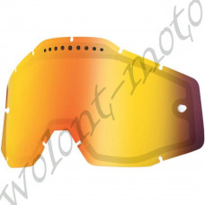 Линза 100%  Dual Pane Lens Anti-Fog Red Mirror  100% Racecraft/Accuri/Strata (51006-003-02)