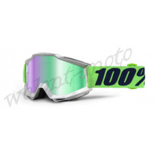 Очки 100% Mirror Green Lens  100% Accuri Nova 50210-175-02