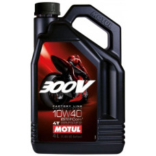 Моторное масло Motul 300V (10w40) 100%Synthetic (4 литра)