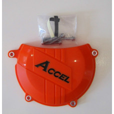 Защита крышки сцепления Accel CCP-503 Orange Clutch Cover Protector KTM 450/500/EXC/SXF/FC/FE
