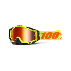 Очки 100% Racecraft Attack Yellow / Mirror Red Lens (50110-026-02)