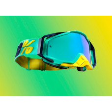 Очки 100% Racecraft Kloog / Mirror Green Lens (50110-206-02)