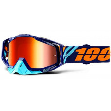 Очки 100% Racecraft Calculus Navy / Mirror Red Lens (50110-217-02)