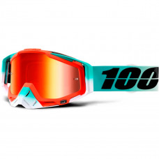 Очки 100% Racecraft Cubica /Mirror Red Lens (50110-222-02)
