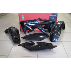 Комплект пластика R-Tech Honda CRF450X 05-07 (R-KITCRX-NR0-414) черный