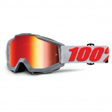 Очки 100% Accuri Solberg / Mirror Red Lens 50210-229-02