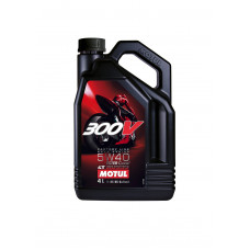 Моторное масло Motul 300V (5w40) 100%Synthetic (4 литра) (08.04.2014)