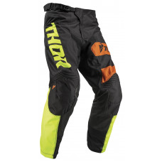 Штаны Thor S19 Pulse Savage Big Kat BK/LIME размер:32 2901-7085