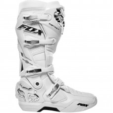 Мотоботы Fox Instinct Boot White/Silver размер:11 (22756-548-11)