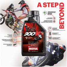 Моторное масло Motul 300V (10w50) 100%Synthetic (1 литр)