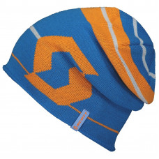Шапка Scott Beanie Team 30, racer blue/sunrise orange/one size 267561-5984222