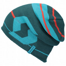 Шапка Scott Beanie Team 30, dragonfly green/sky blue/one size 267561-5945222
