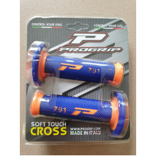 Грипсы Progrip 791-275 Orange Fluo-Blue