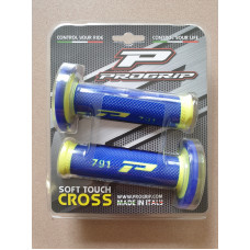 Грипсы Progrip 791-252 Yellow Fluo-Blue