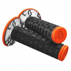 Грипсы Scott Grip Mellow + Donut black/neon orange/OSZ 269305-5039222