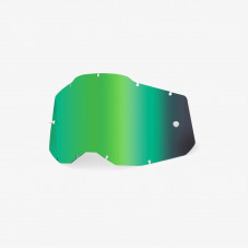 Линза 100% RC2/AC2/ST2 Replacement Lens Mirror Green (51008-260-01)