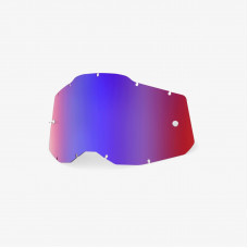Линза 100% RC2/AC2/ST2 Replacement Lens Mirror Red/Blue (51008-254-01)
