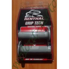 Грипсы Renthal MX Diamond Soft G089 Серый