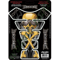 Наклейка на бак LETHAL THREAT MEGADEATH SKULL LT70056