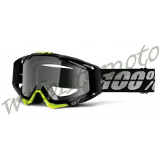 Очки 100% Racecraft Stealth / Clear Lens    1 (50100-108-02)