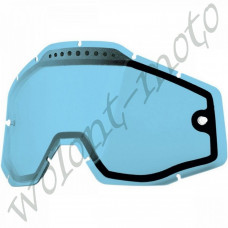 Линза 100%  Dual Pane Lens Anti-Fog   Blue   100% Racecraft/Accuri/Strata (51006-002-02)
