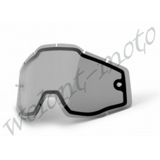Линза 100%  Dual Pane Lens Anti-Fog Smoke 100% Racecraft/Accuri/Strata (51006-007-02)