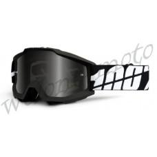 Очки 100% Grey Smoke Lens  100% Accuri Sand Black Tornado (50201-061-02)