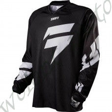 Мотоджерси Shift M Черный с белым  SHIFT Recon Logo Jersey (11434-001-M)