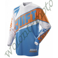Джерси Shift M Оранжево синий Shift Assault Race Jersey 07244-592-M