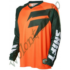 Джерси Shift XXL Оранжевый с зеленым Shift Recon Logo Jersey 15767-031-XXL