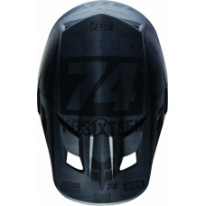 Козырек к шлему Fox  Черный матовый Fox V2 Union Helmet Visor 15853-255-OS