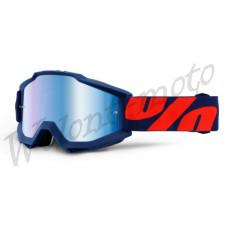 Очки 100% Mirror Blue Lens  100% Accuri Raleigh 50210-158-02