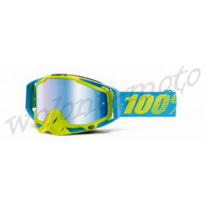 Очки 100% Mirror Blue Lens  100% Racecraft Barbados 50110-114-02