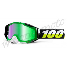 Очки 100% Mirror Green Lens  100% Racecraft Simbad 50110-132-02