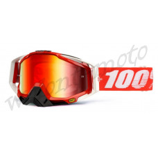 Очки 100% Mirror Red Lens  100% Racecraft Fire Red 50110-003-02