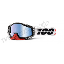 Очки 100% Mirror Blue Lens  100% Racecraft Zoolander 50110-177-02