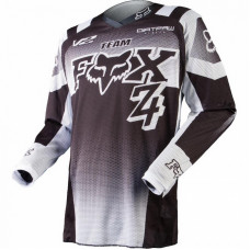 Джерси подростковая Fox 180 Imperial Youth Jersey Black/White M (11448-018-M)