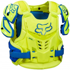Панцирь Fox Raptor Vest Blue/Yellow S/M (12351-026-S/M)