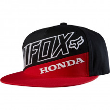 Бейсболка Fox Honda Premium SB Hat Red/Black  (18989-055-OS)