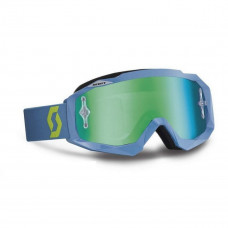 Очки SCOTT Hustle MX steel grey/green/green chrome works c зеркальной линзой 237588-4604279
