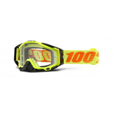 Очки 100% Racecraft Attack Yellow / Clear Lens (50100-026-02)