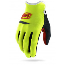 Перчатки 100% Ridecamp Glove Neon Yellow L (10008-004-12)