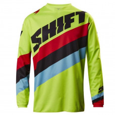 Джерси Shift White Tarmac Jersey Flow Yellow M (17213-130-M)