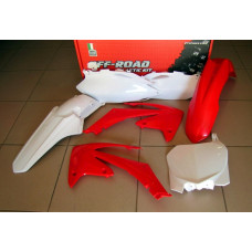 Комплект пластика R-Tech Honda CRF250R 10, CRF450R 09-10 (R-KITCRF-OEM-513 ) красный-белый