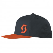 Кепка Scott Cap Promo 20 black iris/tangerine orange one size 240415-4796222