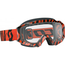 Очки Scott Hustle MX Enduro black/fluo orange/clear с двойной линзой 246432-5402043