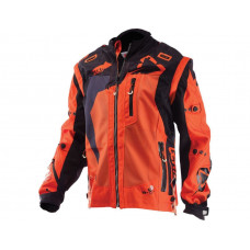 Куртка Leatt GPX 4.5 X-Flow Jacket размер:XL Orange/Black (5017810303)