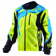 Куртка Leatt GPX 4.5 X-Flow Jacket размер:L Lime/Blue (5017810332)