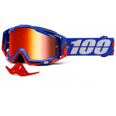 Очки 100% Racecraft Republic / Mirror Red Lens (50110-187-02)