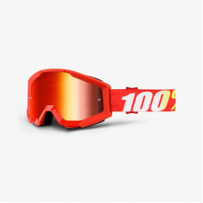 Очки 100% Strata Furnace / Mirror Red Lens (50410-232-02)